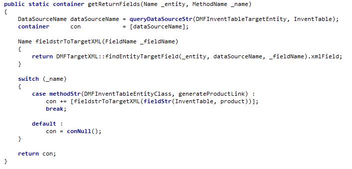 getReturnFields method example